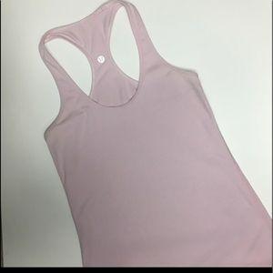 Lululemon baby pink tank top